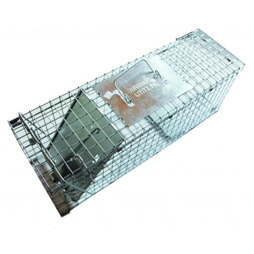 Boîte à fauve pliable 1 entrée, 61 x 20 x 20 cm