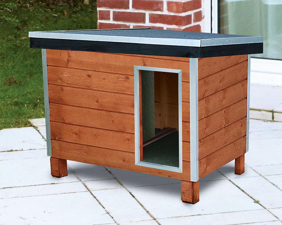 niche pour chien en bois petit mod le ntd chasse et pi geage. Black Bedroom Furniture Sets. Home Design Ideas