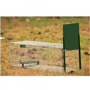 Boîte à fauve 1 entrée, 62 x 21 x 21 cm, pour rat ou fouine
