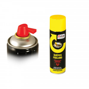Insecticide aérosol guêpes frelons 500 ml Myriad