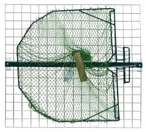 Piège à filet pour oiseaux sur poteaux