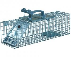 Piège cage à rat 1 entrée 44 cm