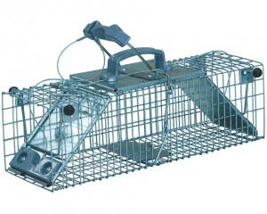 Piège cage à rat 2 entrées 44 cm