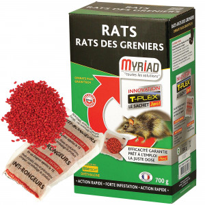 Blé empoisonné Myriad pour les rats