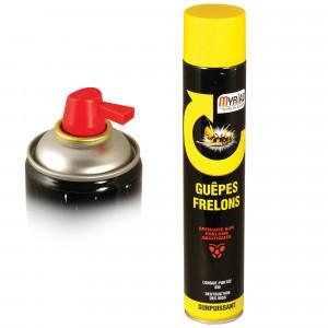 Insecticide aérosol guêpes frelons 750 ml Myriad