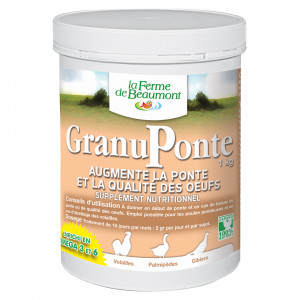 GranuPonte - améliore la ponte