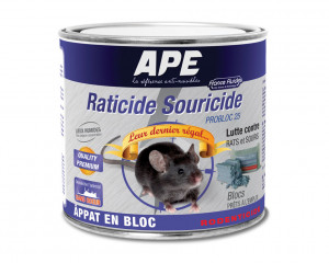 Raticide Souricide ProBloc 25 - 300 gr