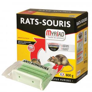 Blocs appâts Myriad pour rats et souris, 800 Gr