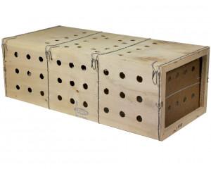 Caisse de transport en bois, taille S