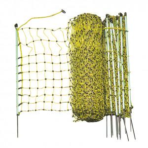 Filet électrifiable, 50 m x 0,65 m, pour lapin