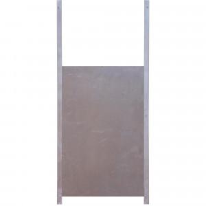 Trappe de sortie aluminium 50 x 33 cm