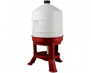 Abreuvoir plastique sur pieds 30 litres