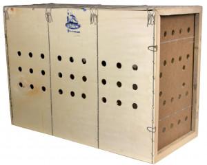 Caisse de transport en bois, taille M