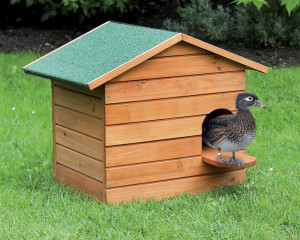 Nichoir à chicane bois petit modèle pour canards
