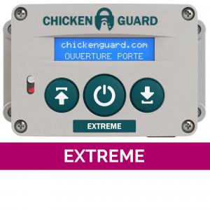 Portier automatique Extreme ChickenGuard poulailler