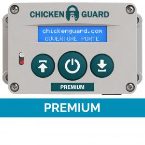 Portier automatique Premium ChickenGuard poulailler